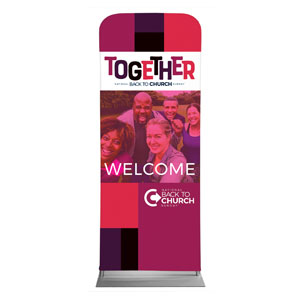 "BTCS Together 2'7"" x 6'7"" Sleeve Banners"