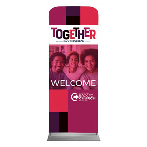 "BTCS Together AFA 2'7"" x 6'7"" Sleeve Banners"