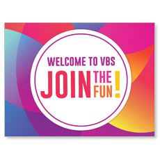 Curved Colors VBS Welcome