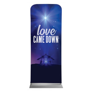 "Aurora Lights Christmas 2'7"" x 6'7"" Sleeve Banners"