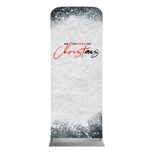 "Unexpected Christmas 2'7"" x 6'7"" Sleeve Banners"