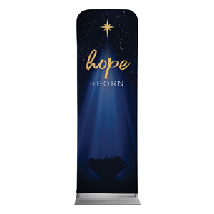 Christmas Star Hope is Born 2 x 6 Sleeve Banner