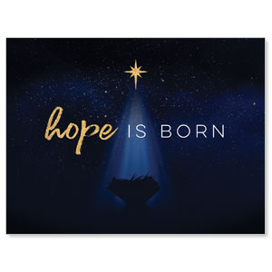 Christmas Star Hope is Born Jumbo Banners