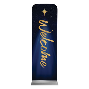 Christmas Star Hope is Born Welcome 2 x 6 Sleeve Banner