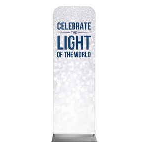 Sparkle Celebrate Light 2 x 6 Sleeve Banner