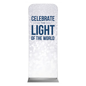 "Sparkle Celebrate Light 2'7"" x 6'7"" Sleeve Banners"