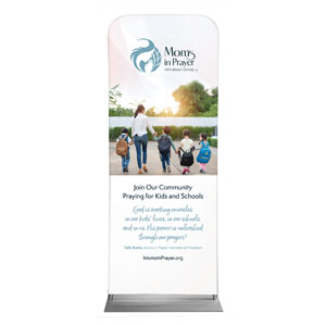"Moms In Prayer Family Walk 2'7"" x 6'7"" Sleeve Banners"