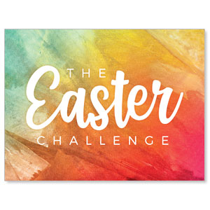 The Easter Challenge Jumbo Banners