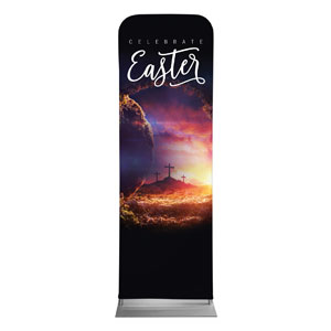 Dramatic Tomb Easter 2 x 6 Sleeve Banner