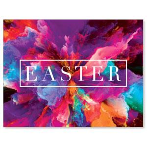 Easter Color Smoke Jumbo Banners