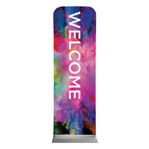 Back to Church Easter Welcome 2 x 6 Sleeve Banner
