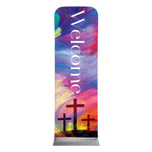 No Greater Love Welcome 2 x 6 Sleeve Banner