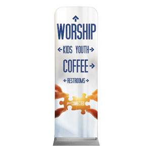 Connected Directional 2 x 6 Sleeve Banner