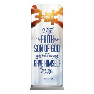 "Connected Scripture 2'7"" x 6'7"" Sleeve Banners"