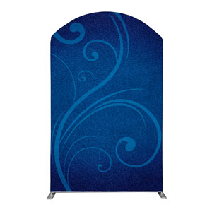 Flourish Backdrop 5' x 8' Curved Top Sleeve