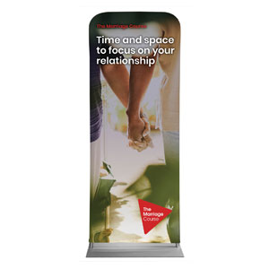 "Alpha Marriage Time and Space Hands 2'7"" x 6'7"" Sleeve Banners"