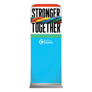 "BTCS Stronger Together 2'7"" x 6'7"" Sleeve Banners"