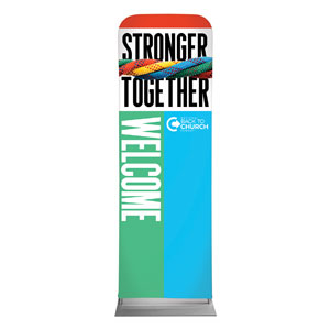 BTCS Stronger Together Welcome 2 x 6 Sleeve Banner