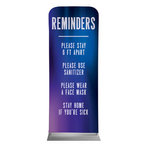 "Aurora Lights Reminders 2'7"" x 6'7"" Sleeve Banners"
