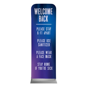 Aurora Lights Welcome Guidelines 2 x 6 Sleeve Banner