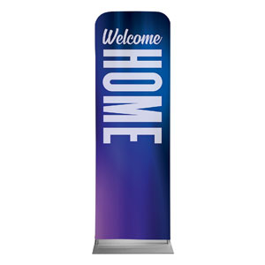 Aurora Lights Welcome Home 2 x 6 Sleeve Banner