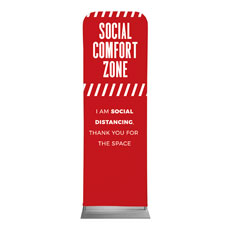 Social Comfort Zone Red