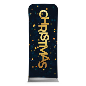 "Christmas At Bokeh 2'7"" x 6'7"" Sleeve Banners"