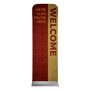 Celebrate The Season Advent Welcome 2 x 6 Sleeve Banner