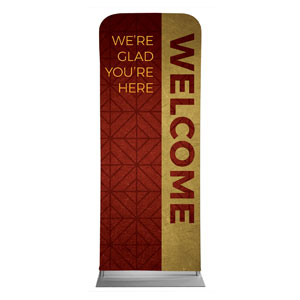 "Celebrate The Season Advent Welcome 2'7"" x 6'7"" Sleeve Banners"
