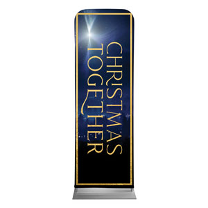 Christmas Together Night 2 x 6 Sleeve Banner