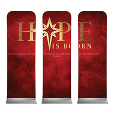 Hope Is Born Star Triptych