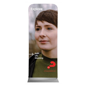 "Alpha Arrow Explore Beth 2'7"" x 6'7"" Sleeve Banners"