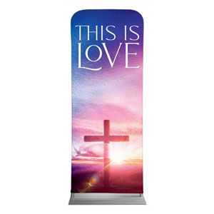 "Love Easter Colors 2'7"" x 6'7"" Sleeve Banners"