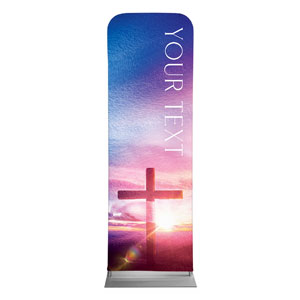Love Easter Colors Your Text 2 x 6 Sleeve Banner