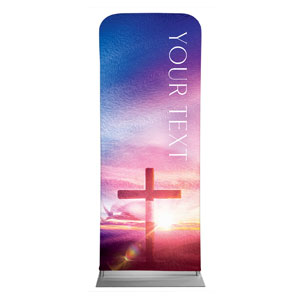 "Love Easter Colors Your Text 2'7"" x 6'7"" Sleeve Banners"