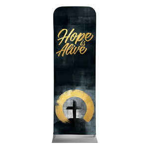 Hope Is Alive Gold 2 x 6 Sleeve Banner