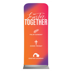 "Easter Together Hues 2'7"" x 6'7"" Sleeve Banners"