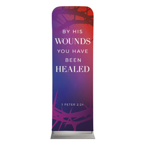 Celebrate Easter Crown Scripture 2 x 6 Sleeve Banner