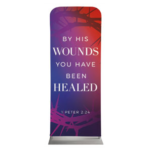 "Celebrate Easter Crown Scripture 2'7"" x 6'7"" Sleeve Banners"