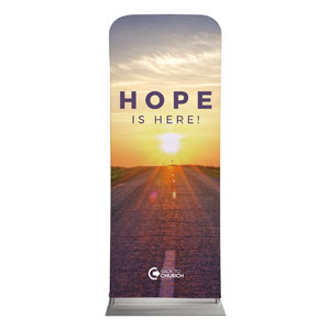"BTCS Hope Is Here 2'7"" x 6'7"" Sleeve Banners"