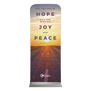 "BTCS Hope Is Here Scripture 2'7"" x 6'7"" Sleeve Banners"