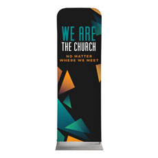 We Are The Church Banner
