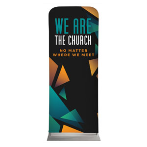 "We Are The Church 2'7"" x 6'7"" Sleeve Banners"