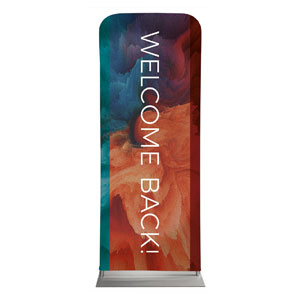 "Welcome Back Burst 2'7"" x 6'7"" Sleeve Banners"