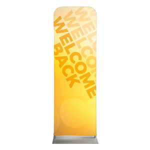 Welcome Back Yellow 2 x 6 Sleeve Banner