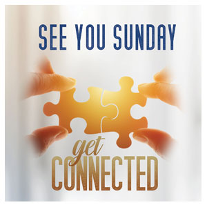 Connected See You Sunday Floor Stickers