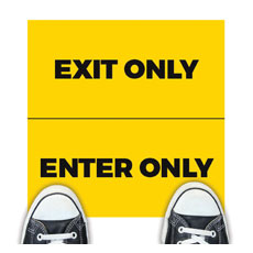 Yellow Enter Exit