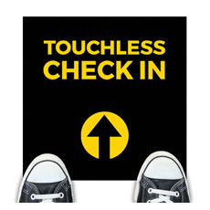 Jet Black Touchless Check In