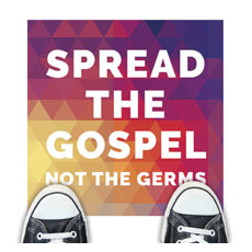 Geometric Bold Spread the Gospel