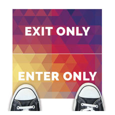 Geometric Bold Enter Exit